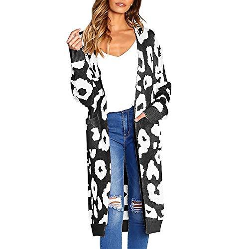 Ulanda-eu maniche lunghe cappotto in maglina lavorato a maglia con stampa a maglia di natale,celebrazione festiva sciolta camicetta top causale donna felpa maglione