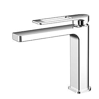 AWA - HUBLO - Chrome - bathroom washbasin single lever tap mixer