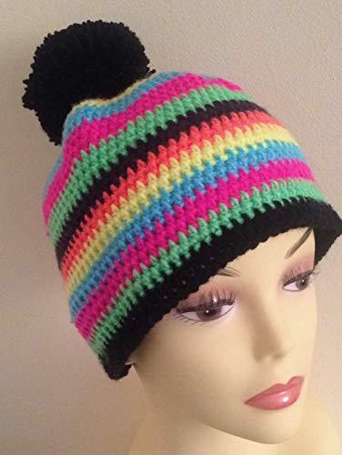 Mütze gehäkelt, Kopfbedeckung, Handmade Deutschland, für Damen, Geschenk, (Für Kinder Gehäkelte Mütze)