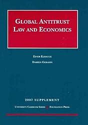 Global Antitrust Law and Economics Supplement (University Casebooks)