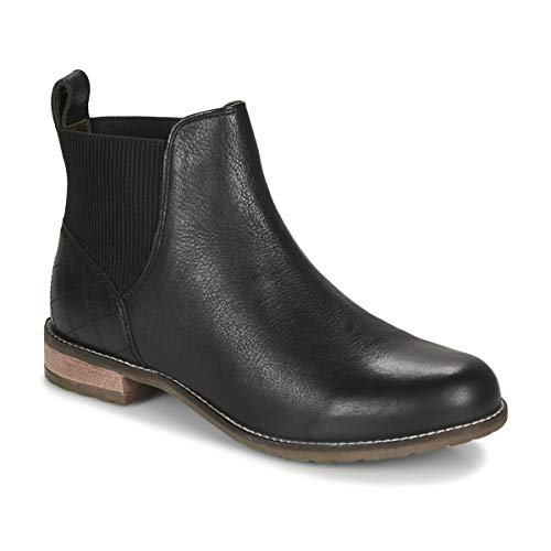 Barbour Hope Ankle Boots/Boots Femmes Black Mid Boots