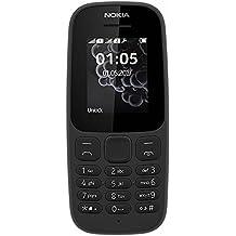 """Nokia 105 1.8"""" 73g Negro Característica del teléfono - Teléfono móvil (4,57 cm (1.8""""), 120 x 160 Pixeles, TFT, 65536 colores, 4 MB, 4 MB)"""