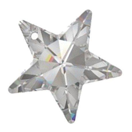 Swarovski Anhänger Stern Kristall 20mm, 12Stück -