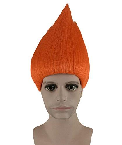 Trolle Film Cosplay Kostüm Perücke orange anhm-090uk (Film Kostüme Einfache Zeichen Für)