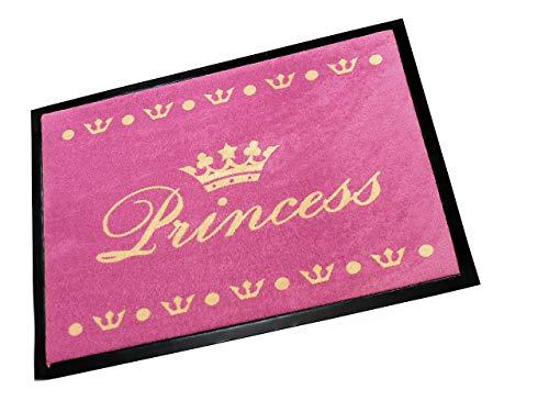 Hanse Home Fußmatte Schmutzfangmatte Princess Pink, 40x60 cm