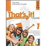 That's it! Extrabook. Con espansione online. Per la Scuola media: 1