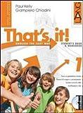 That's it! Extrabook. Per la Scuola media. Con espansione online: 1