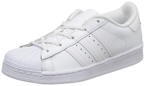 quite nice c5e67 ddc35 adidas Originals Unisex-Kinder Superstar Foundation Gymnastikschuhe,  Elfenbein (Footwear WhiteFootwear White