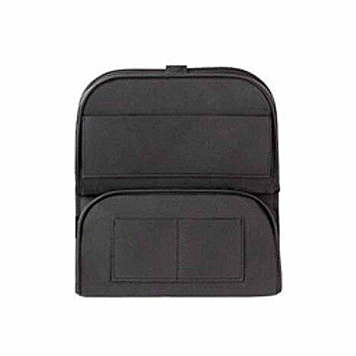 NUO-Z Autositz Zurück Protector - Storage Protection Zusammenklappbaren Organizer Mit Mehreren Funktionen, Kinder Kick Matte Auto Auto Protector,Black -