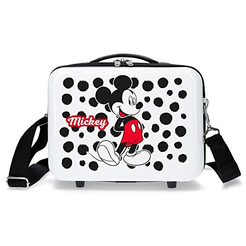 Neceser adaptable trolley Mickey Enjoy the Day Dots