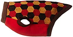 Dogspot Stripe Sweater, Size - 14 (Red/Black)