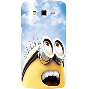 Casotec Minion Design Hard Back Case Cover for Samsung Galaxy Grand 2 G7102 / G7105