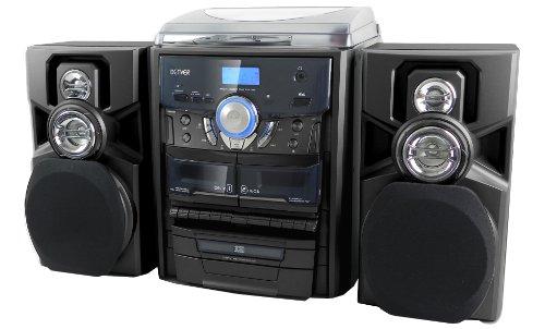 kompakt-stereo-anlage-cd-radio-plattenspieler-frontlader-fernbedienung-schwarz-denver-mrp-161