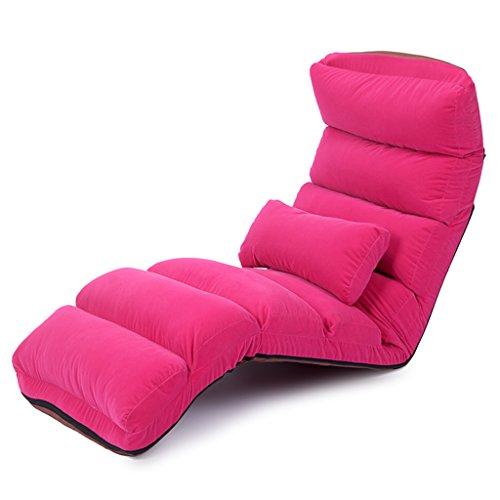 Esszimmerstühle Boden-Stühle mit Hinterer Unterstützung Für Kinder, Rosa Justierbares Faules Sofa, Für Meditations-Seminare, Die...