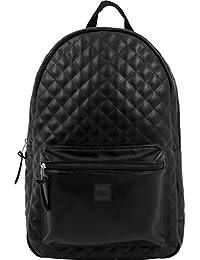 2c135a02bfaff Urban Classics Diamond Quilt Leather Imitation Backpack Rucksack