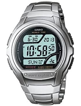 Casio Herren Digital mit Edelstahl Armbanduhr WV 58DU 1AVES
