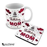 Best Mom Coffee Cups - alDivo Premium Quality Happy Birthday Mom Printed Combo Review