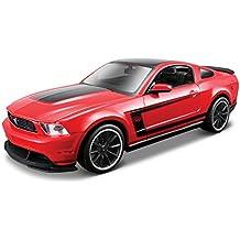 Maisto - Kit de montaje del modelo Ford Mustang Boss 302, escala 1:24 (39269)