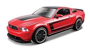 Maisto- Kit de Montaje del Modelo Ford Mustang Boss 302, Escala 1:24 (39269)