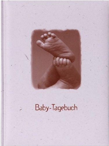 Preisvergleich Produktbild HENZO Baby-Tagebuch - FÜßE - Babytagebuch mit 44 illustrierten Seiten - Baby Fotoalbum - Buch zur Geburt oder Taufe