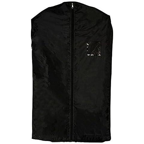 Pour Costume pour soins Sac S x2Noir Blazer pour homme veste imperméable pour résistant à l'eau pour Voyage Rangement Armoire à linge Vêtements Vêtements Housse à fermeture Éclair à fermeture éclair Protection d'écran protection anti-pluie