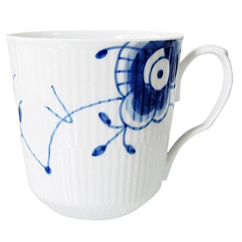 Blue Fluted Mega Blue Mega Mug 46cl