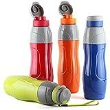 Cello Puro Sports Virgin Material 900ml Insulated Water Bottle, 9.5x13.5x10.5cm (Multicolour)