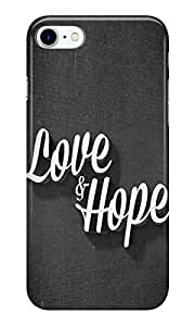 Dreambolic LOVE & HOPE Back Cover for Apple iPhone 7