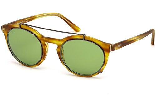 Occhiali da sole tod's to0180 c51 55n (coloured havana / green)