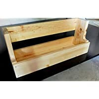 Estante palet - balda de madera - Almacenaje palet de madera - Revistero