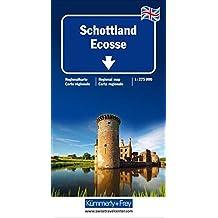 KuF Schottland 1 : 275 000: Ecosse / Scotland / Scozia. Straßenkarte. Sehenswürdigkeiten, Reiseinformationen, Index