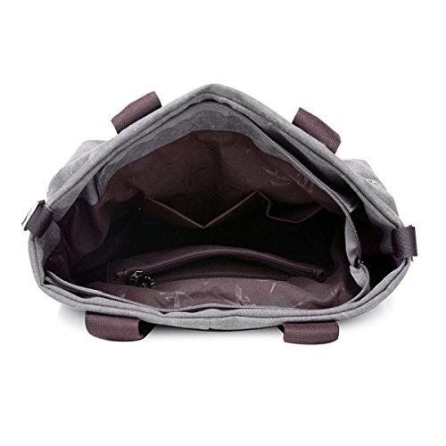Mode Trends Segeltuchtaschen Einfach Wild Tragetaschen Handtaschen Schultertaschen Freizeit Persönlichkeit Messenger Bag Khaki
