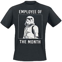 Star Wars Herren T-Shirt, schwarz, M