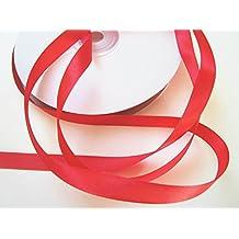 50m Schleifenband 10mm breit: Rot