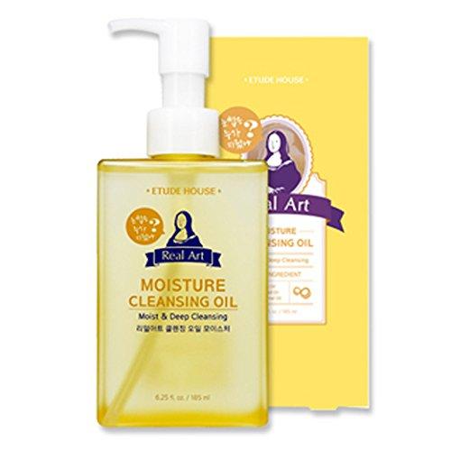 [Etude House] Real Art Cleansing Oil Moisture 185 ml