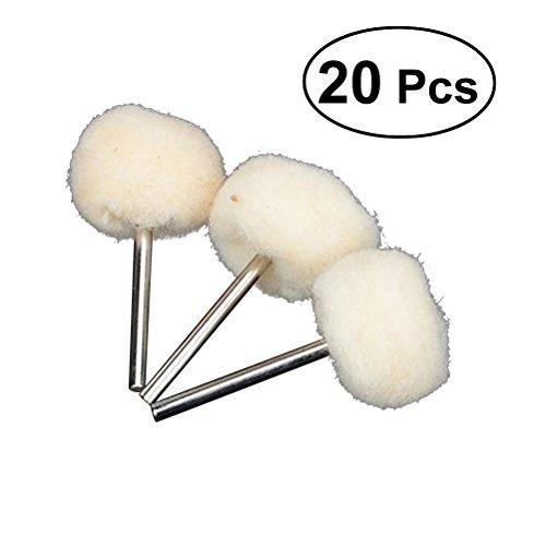 healifty Polieren Pad Kit für Bohrmaschine Wolle Polieren Buff Rad Rotary Tools 20Stück