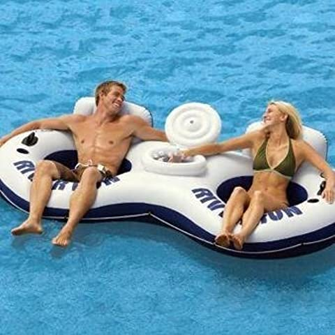 River Run II - Inflatable Float Tube for Two - By Intex by Intex Imports
