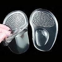 Paar Silikon Gel Ball Fußpolster Einlegesohlen Mittelfußstütze Einlage Pad Universal Schuhe Zubehör - Klar preisvergleich bei billige-tabletten.eu