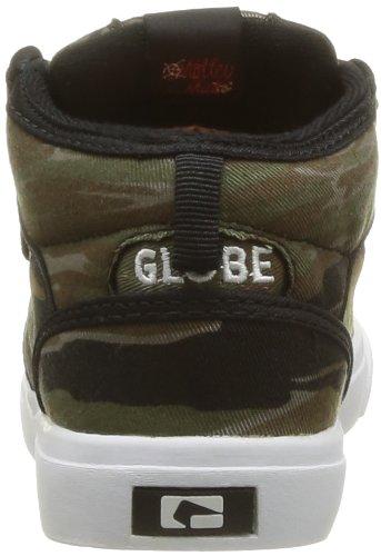 Globe Motley Mid Kids, Chaussures de sports extérieurs garçon Vert (19700)