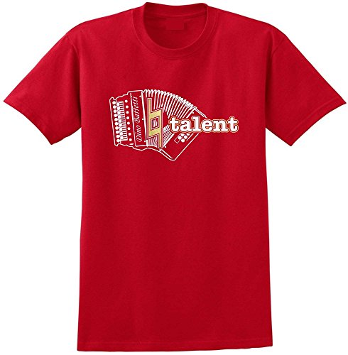 Melodeon Rule - Red Rot T Shirt Größe 87cm 36in Small MusicaliTee
