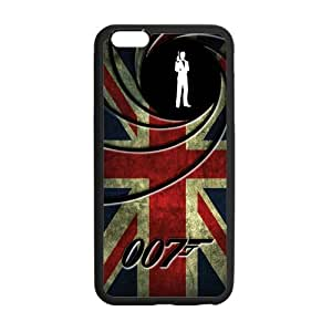 James bond 007 new custom phone case coque de protection pour iphone 6 plus-pLUS660 et broyer