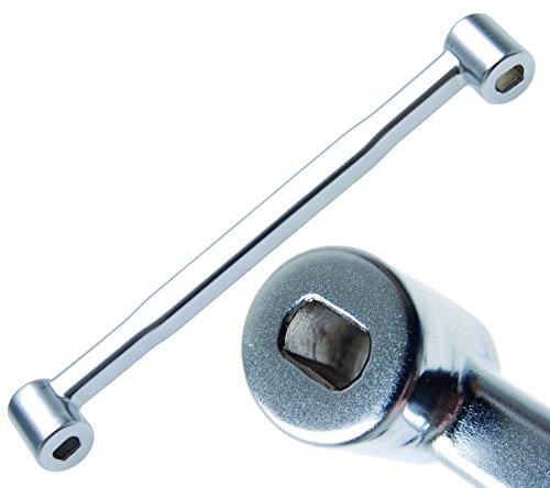 Preisvergleich Produktbild BGS Spezialschlüssel für Stoßdämpfer mit Ovalzapfen, 1301