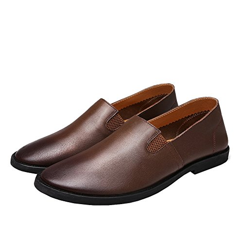Lisianthus002 , Mocassins pour homme Dark Brown-2