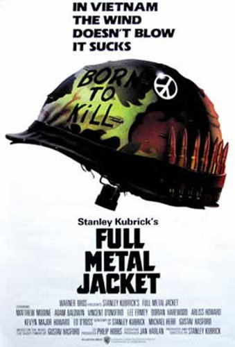 Full Metal Jacket - Poster - von Stanley Kubrick + Ü-Poster