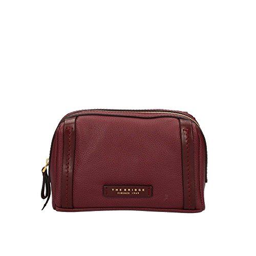 The Bridge Saturnia Trousse de toilette cuir 20 cm