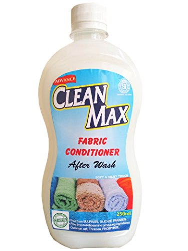 CLEANMAX ECO-FRIENDLY FABRIC CONDITIONER (SOFTENER) AFTER WASH – 250ml (FRESH)