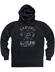 Official Sons of Anarchy - SAMCRO Outlaw Sudadera con capucha, Para hombre