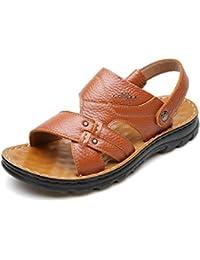 HUO Sandals Sandalias Hombres Moda Los Nuevos Zapatos Antideslizantes Al Aire Libre De La Playa Zapatos