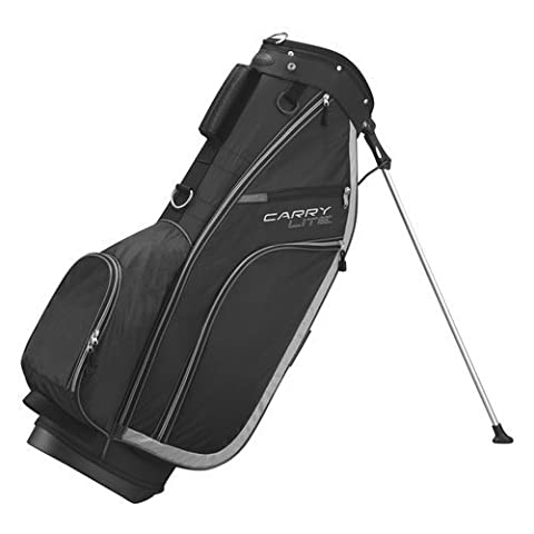 Wilson Carry Lite Golf Stand Bag, Black