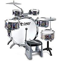 X-CAT Batería Instrumentos Musicales Principiantes para Niños Jazz Batería Juguetes Niños Batería Regalos 3